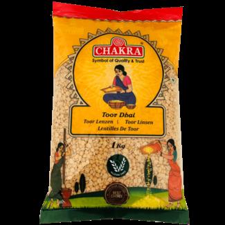 Chakra Toor Dhal (Linzen), 1 kg