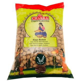 Chakra Soya Meat Button (soja), 250 gr