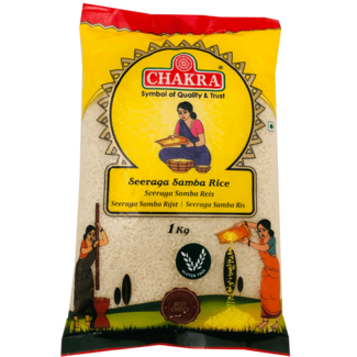 Chakra Seeraga Samba Rice (Rijst)
