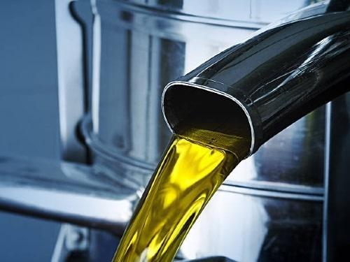 Koudgeperste olie