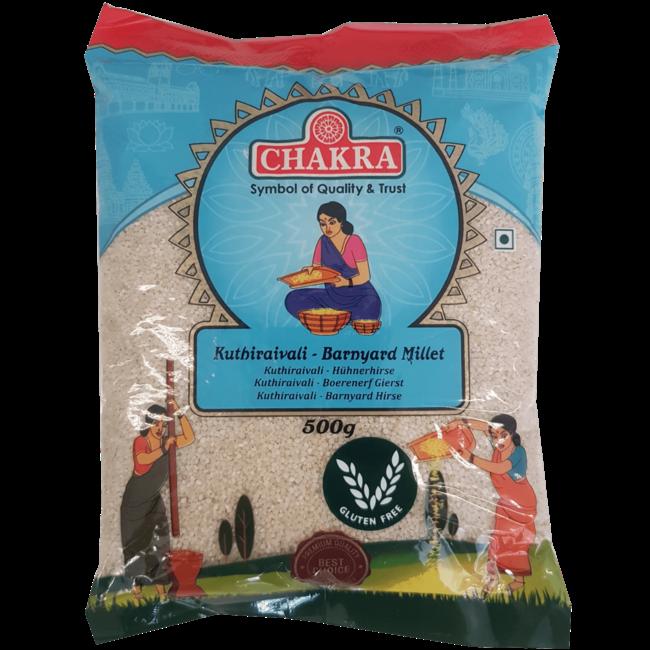 Chakra Kuthiraivali Barnyard Millet , 500 gr
