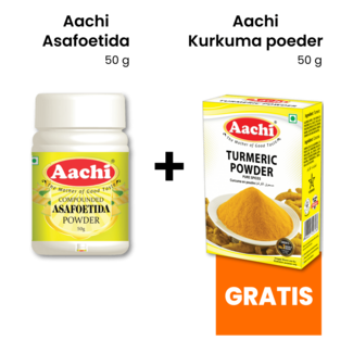 Aachi Masala Compounded Asafoetida Powder, 50 gr