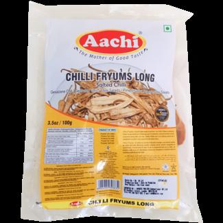 Aachi Masala Chilli Fryums Long - Salted Chilli
