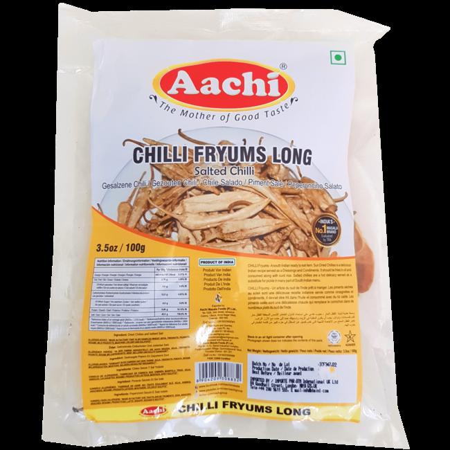 Aachi Masala Chilli Fryums Long (Gezouten Pepers)