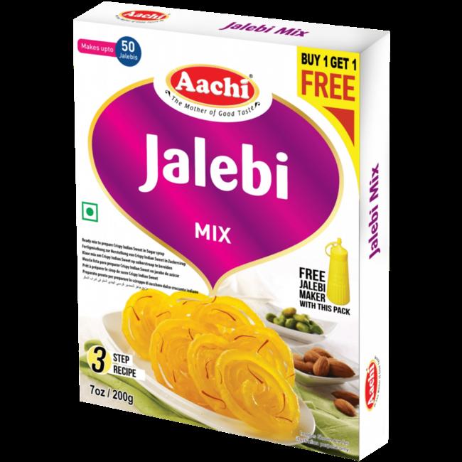 Aachi Masala Jalebi Mix, 200 gr(Buy1-Get1Free)
