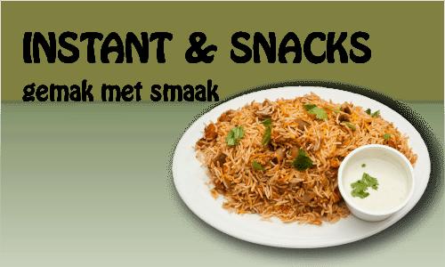 Instant & Snacks