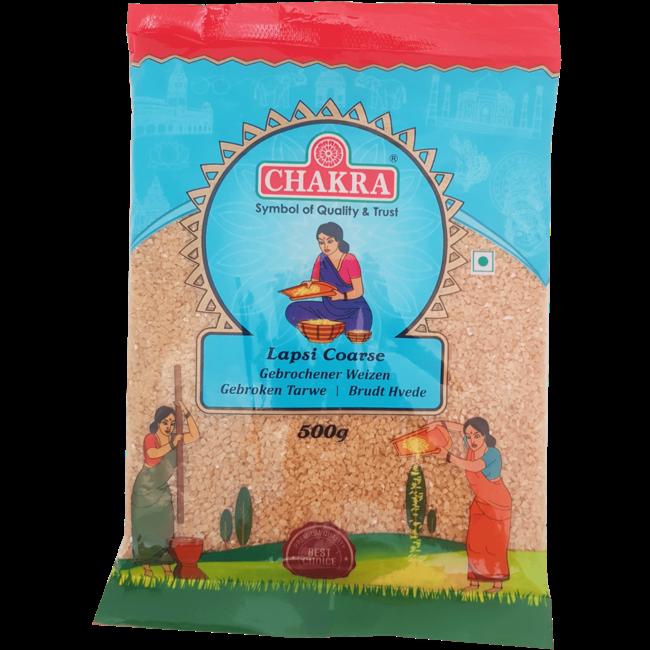 Chakra Lapsi Coarse (gebroken tarwe), 500 gr