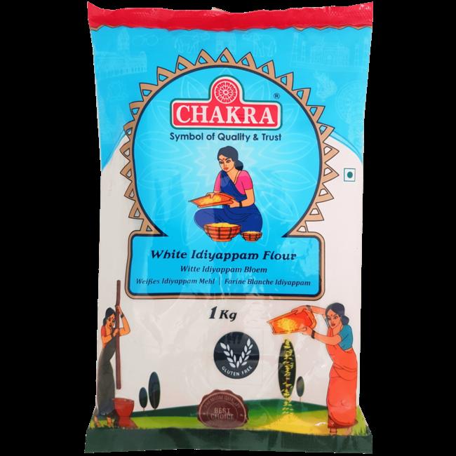 Chakra Idiyappam Flour White, 1 kg