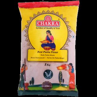 Chakra Red Puttu Flour (Rijstmeel), 1 kg