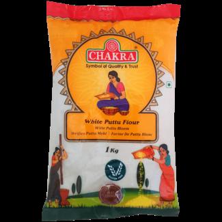 Chakra White Puttu Flour, 1 kg