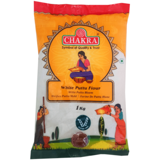 Chakra White Puttu Flour (Rijstmeel), 1 kg
