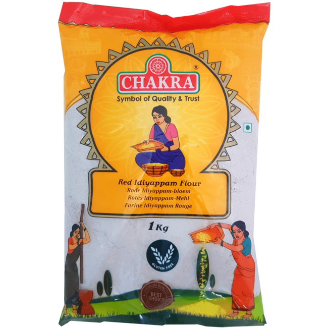 Chakra Idiyappam Flour Red, 1 kg
