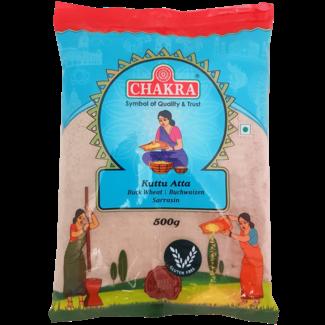 Chakra Kuttu Atta (Boekweit), 500 gr