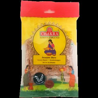 Chakra Sesame Bars, 100 gr