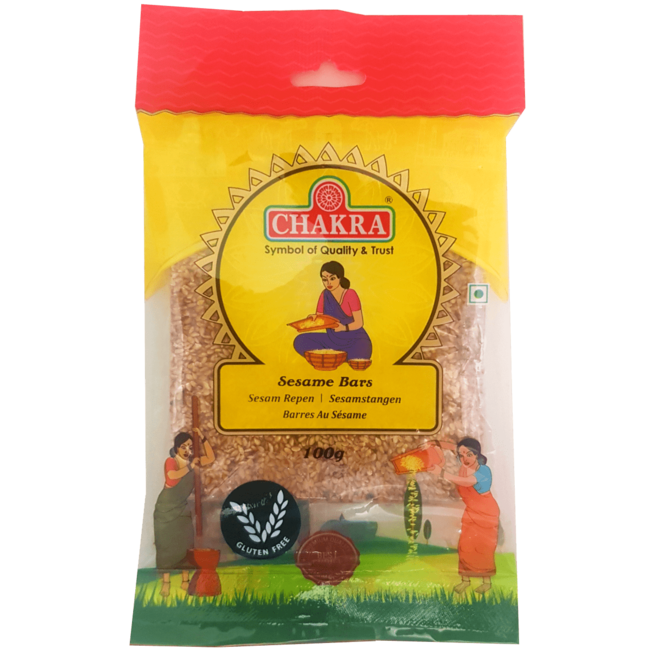 Chakra Sesame Bars (sesam repen), 100 gr