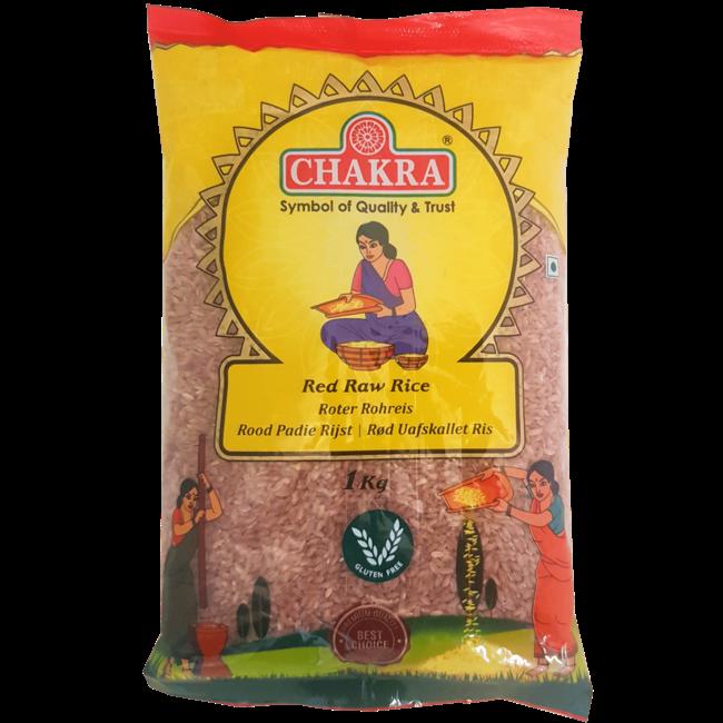 Chakra Red Raw Rice Polished