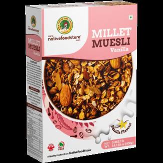 Native Food Millet Cereal met Vanille