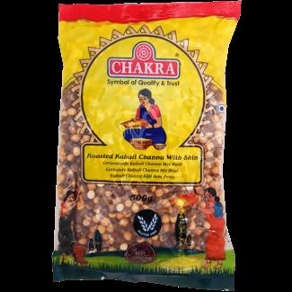 Chakra Roasted Kabuli Channa With Skin, 500 gr