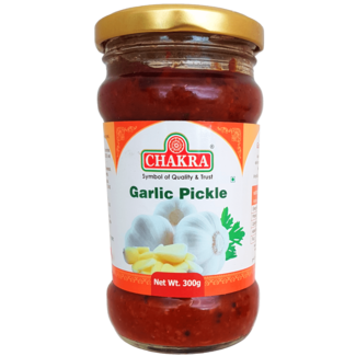 Chakra Garlic Pickle (knoflook), 300 gr