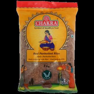 Chakra Red Parboiled Rice (Rode Voorgekookte Rijst)