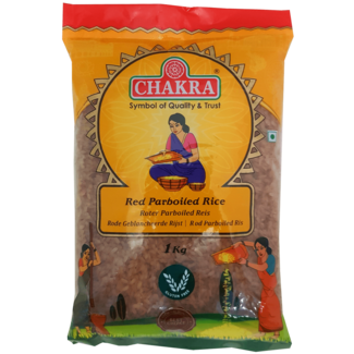 Chakra Red Parboiled Rice