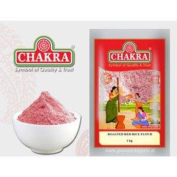 Chakra Geroosterd Rood Rijstmeel, 1 kg