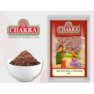 Chakra Red Raw Rice Unpolished