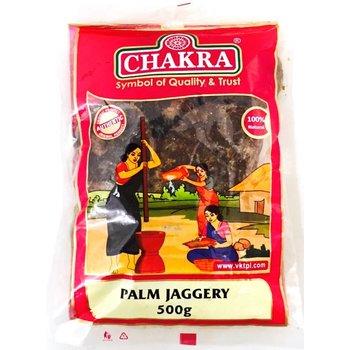 Chakra Palm Jaggery, 500 gr(Karupatti)
