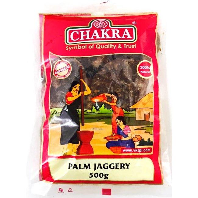 Chakra Palm Jaggery, 500 gr (Karupatti)