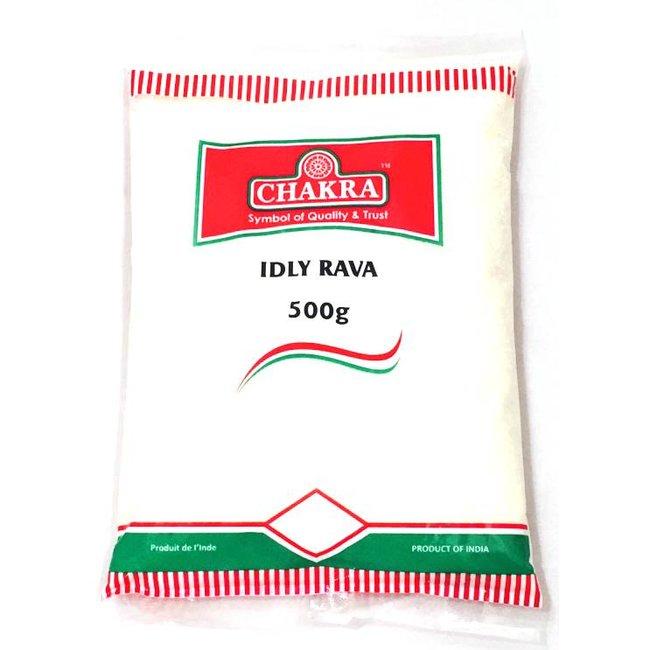 Chakra Idly Rava (gebroken rijst)