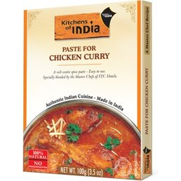 Kitchens of India Paste for Chicken Curry, 100 gr