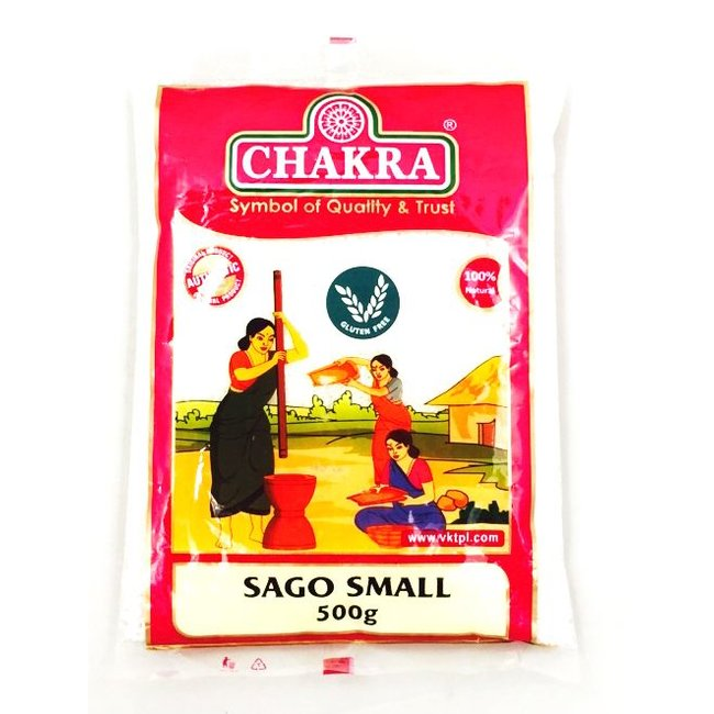 Chakra Sago Small, 500 gr