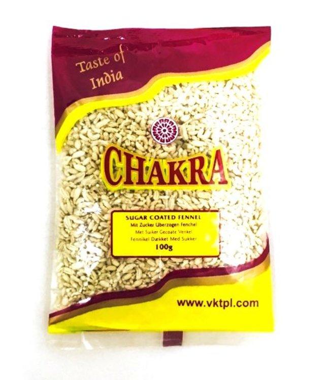 Chakra Sugar Coated Fennel, 100 gr