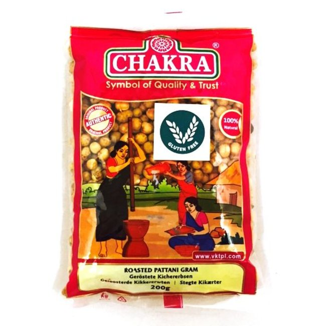 Chakra Roasted Pattani Gram, 200 gr