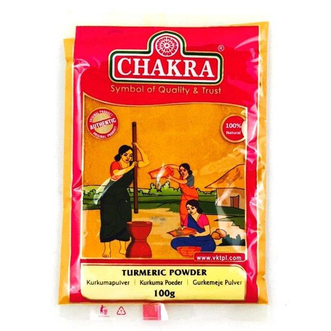 Chakra Kurkuma Poeder, 100 gr