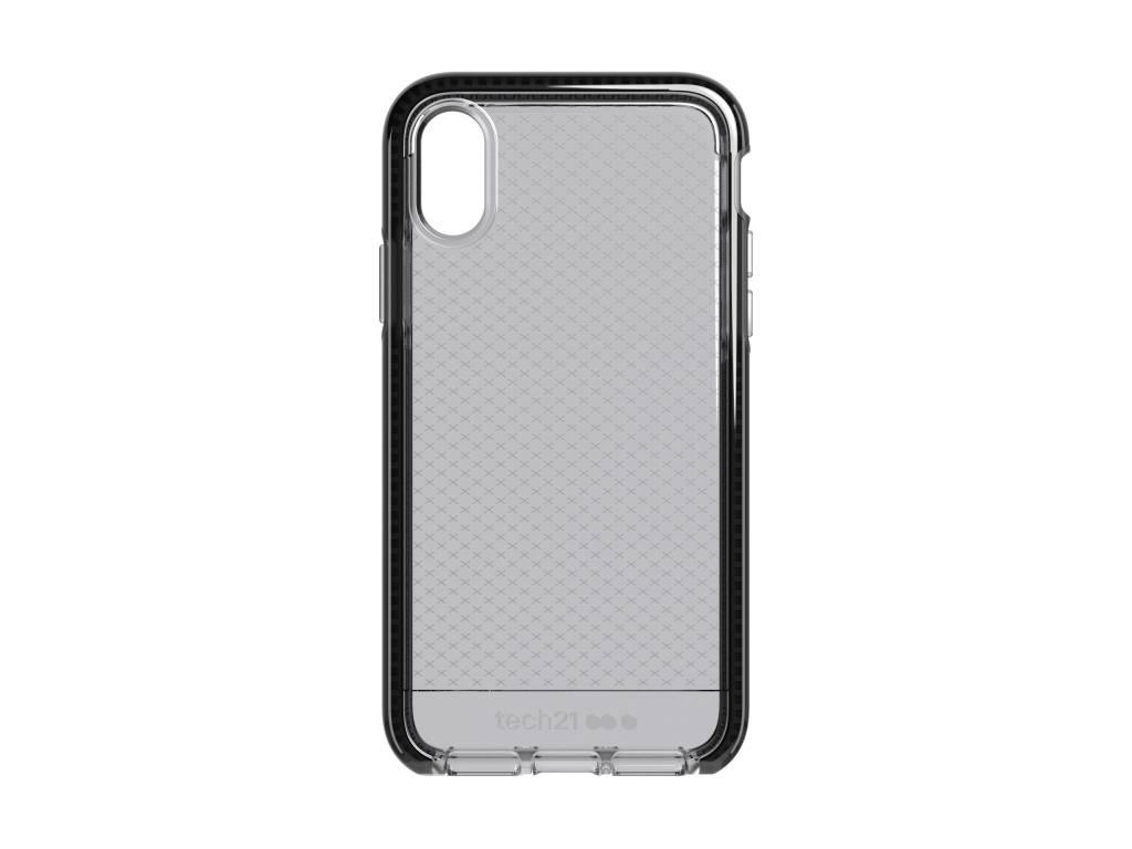 Tech21 Evo Check Backcover voor iPhone X / Xs - Zwart