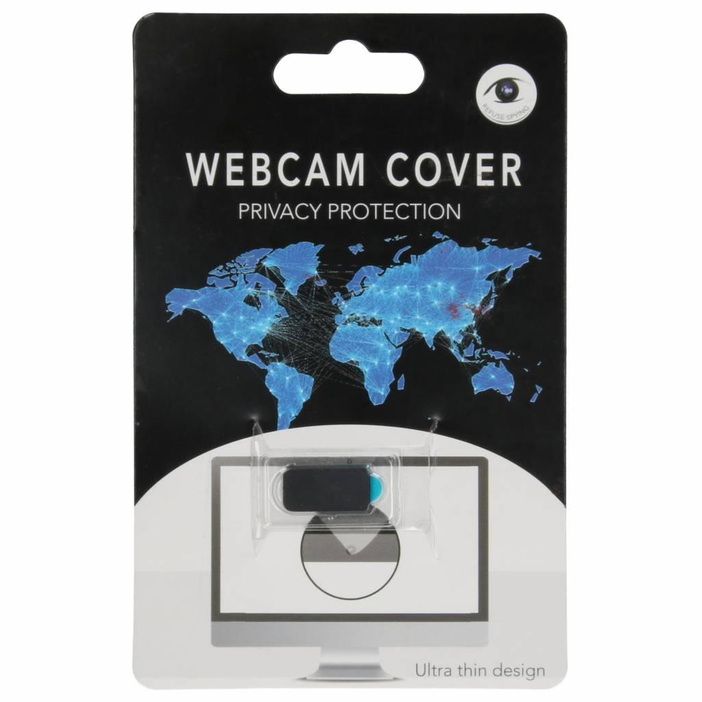 Zwarte Webcam Cover