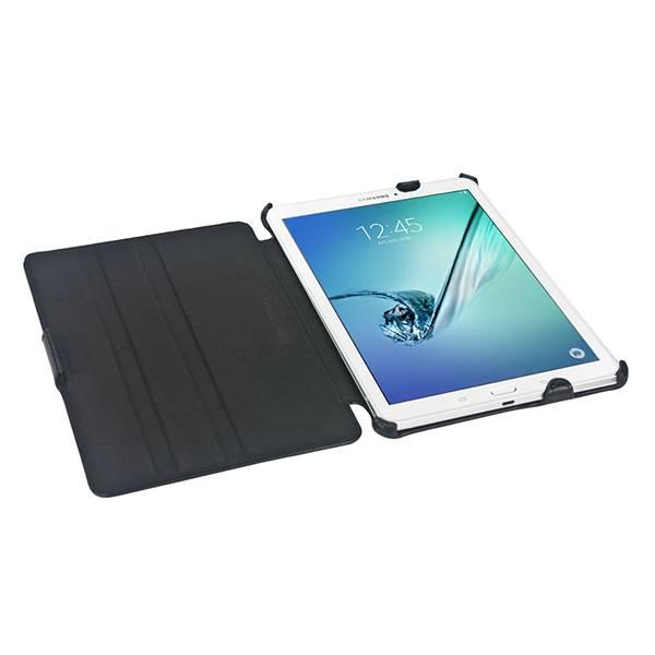 Gecko Covers Slimfit Bookcase voor Samsung Galaxy Tab S3 8.0 - Zwart