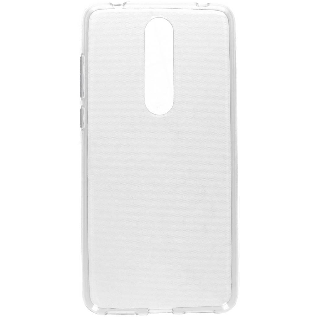 Transparante gel case voor de Nokia 3.1 Plus