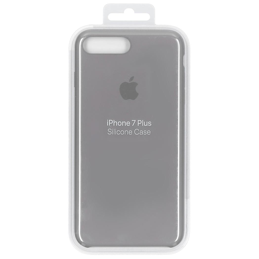 Apple Silicone Backcover voor iPhone 8 Plus / 7 Plus - Grijs