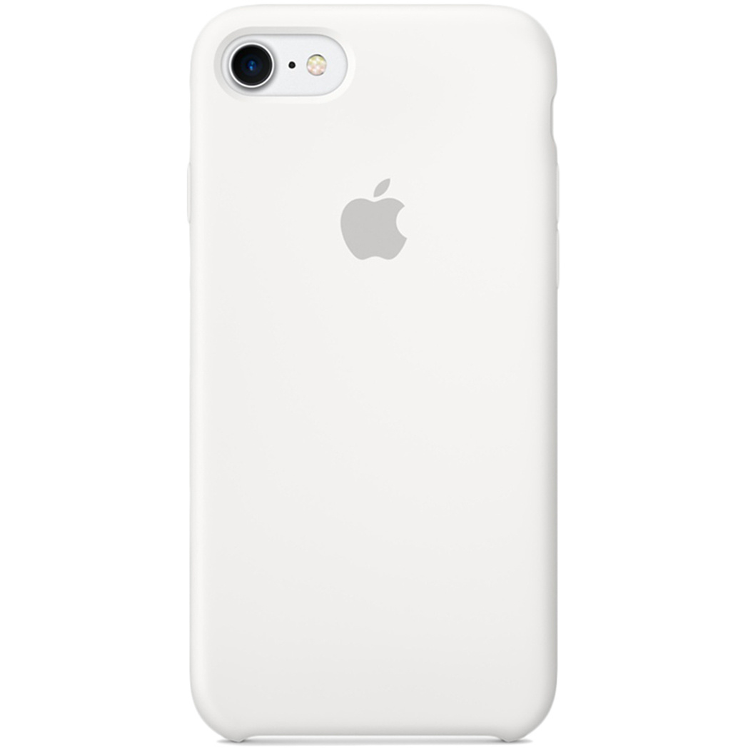 Apple Silicone Backcover voor de iPhone 8 / 7 - White