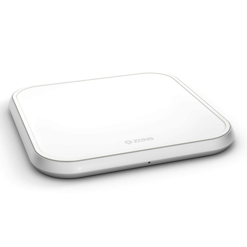 Zens Single Fast Wireless Charger - 10 Watt - Wit