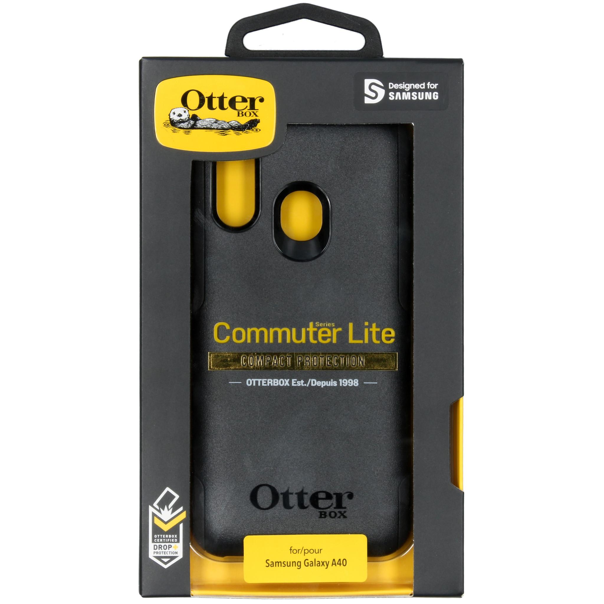 OtterBox Commuter Lite Backcover voor de Samsung Galaxy A40 - Zwart