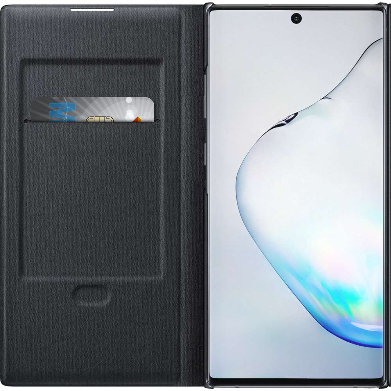 Samsung LED View Booktype voor de Samsung Galaxy Note 10 Plus - Zwart