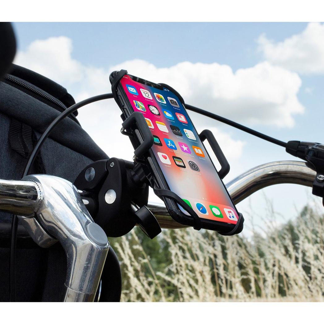 MobileChoize Telefoonhouder fiets - Zwart