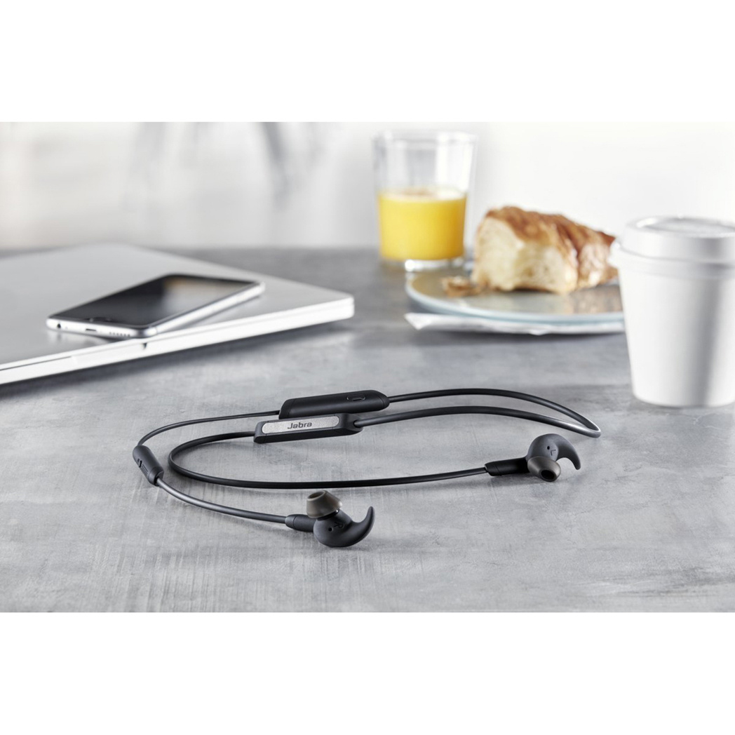 Jabra Elite 45e Bluetooth Headset - Zwart