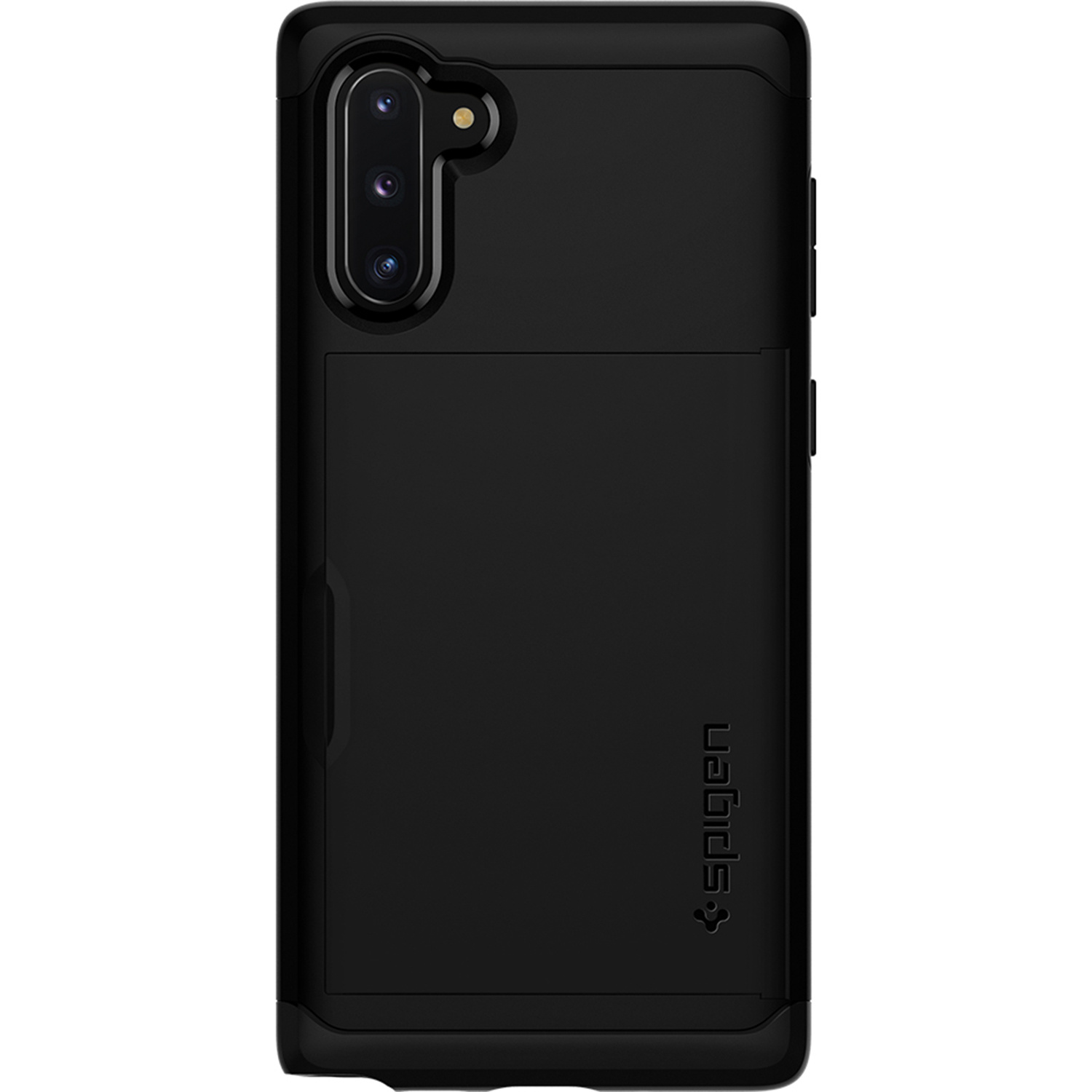 Spigen Slim Armor CS Backcover voor de Samsung Galaxy Note 10 - Zwart