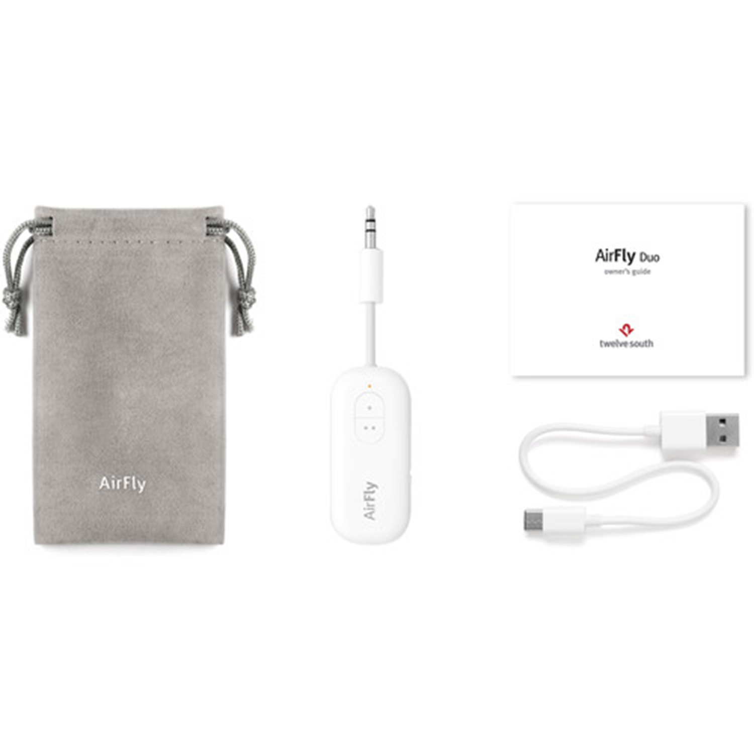 Twelve South AirFly Duo Wireless Transmitter - Wit