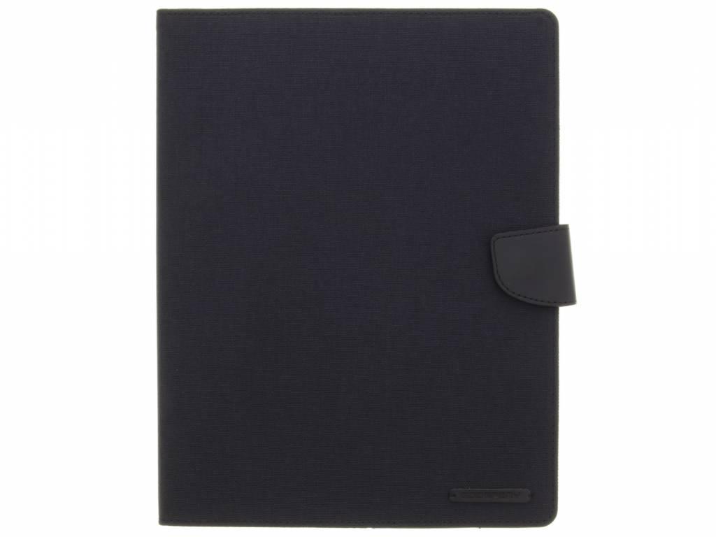 Mercury Goospery Canvas Diary Booktype voor iPad 2 / 3 / 4 - Zwart