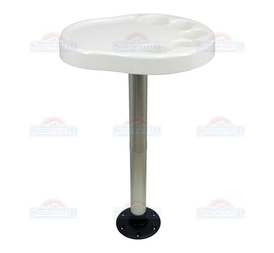 Tischbein und Basispaket Partei Platter